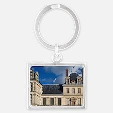 Fontainebleau Chateau, Seine et Landscape Keychain