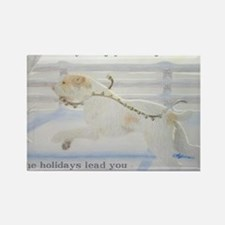 SpinoneHolidayCard Rectangle Magnet