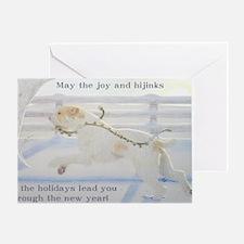 SpinoneHolidayCard Greeting Card