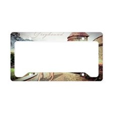 castle(laptop) License Plate Holder