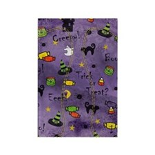 PurpleBG Rectangle Magnet