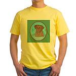 Nova Scotia Duck Tolling Retriever Yellow T-Shirt