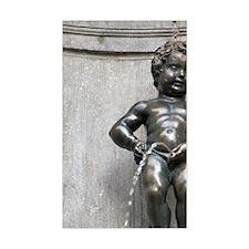 Famous fountain Manneken Pispi Decal