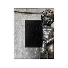 Famous fountain Manneken Pispital Re Picture Frame