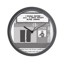 Double Feature Wall Clock