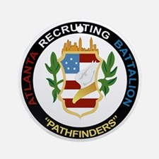 DUI - Atlanta - Recruiting Bn Round Ornament