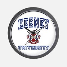 KEENEY University Wall Clock