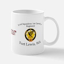 2nd squadron 1st cavalry 2 Mug