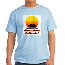 Sweet Home California Light Blue T-Shirt
