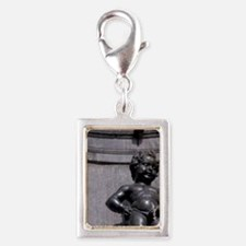 Symbol of city sculpted by J Silver Portrait Charm
