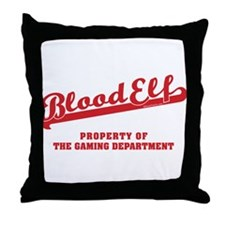 Blood Elf Throw Pillow