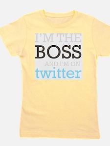 BossTwitter Girl's Tee