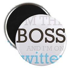 BossTwitter Magnet