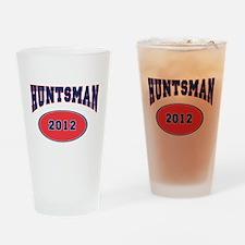 HUNTSMAN BLUE FONT Drinking Glass
