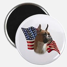 Boxer Flag Magnet