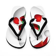 CHRISTMAS6 Flip Flops