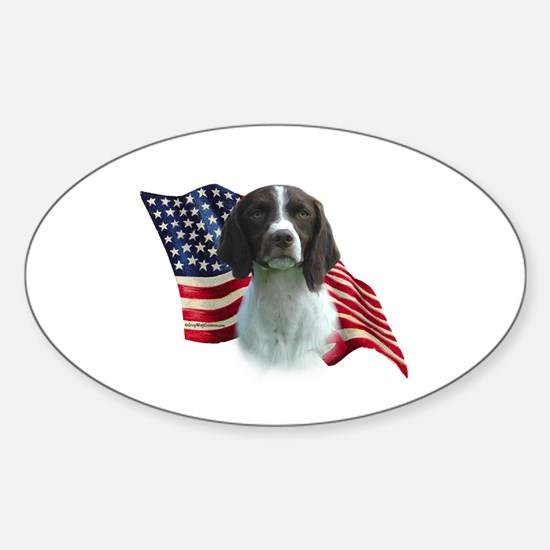 Brittany Flag Oval Decal