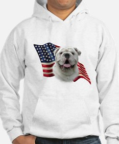 Bulldog Flag Jumper Hoody