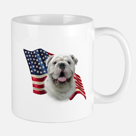 Bulldog Flag Mug