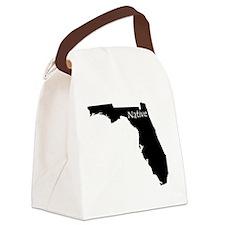 FloridaNative-light Canvas Lunch Bag
