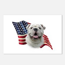 Bulldog Flag Postcards (Package of 8)