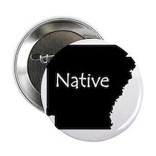 """ArkansasNative-light 2.25"""" Button"""