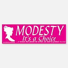 Modesty Proverbs 31 Bumper Bumper Bumper Sticker