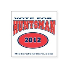 "HUNTSMAN LIGHT SHIRT Square Sticker 3"" x 3"""