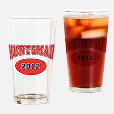 HUNTSMAN RED FONT Drinking Glass
