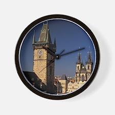 Bohemia, Prague (Praha), Old Town; Old  Wall Clock