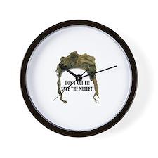 Unique Mullet Wall Clock