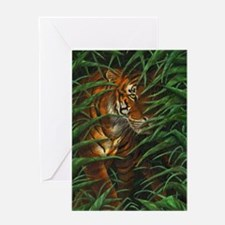 Tiger Stalking (low res) Greeting Card