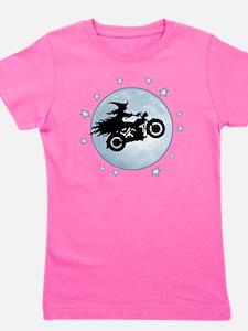 witch-biker-moon-T Girl's Tee