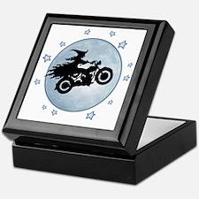 witch-biker-moon-T Keepsake Box
