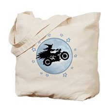 witch-biker-moon-T Tote Bag