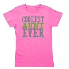 Coolest Aunt Girl's Tee