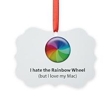Rainbow Wheel Ornament