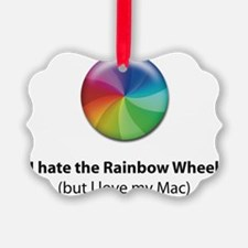 Rainbow Wheel Ornament