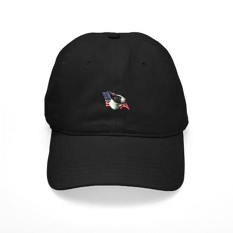 Bull Terrier Flag Black Cap