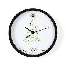 christmas25 Wall Clock