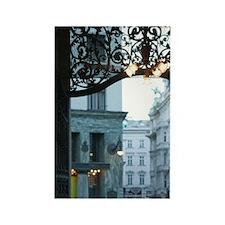 AUSTRIA, Vienna: Michaelerplatz / Rectangle Magnet