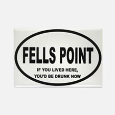 Fells Point Rectangle Magnet