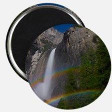 Yosemite Falls double moonbow edited Magnet