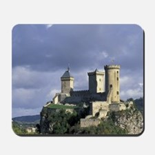 Europe, France, Foix, Ariege, Pyrenees.  Mousepad