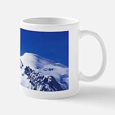 France, Chamonix. Mt. Blanc as seen fro Mug