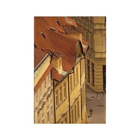 Prague (Praha) Old Town; Building Rectangle Magnet