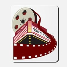 theater cinema film reel rolling Mousepad