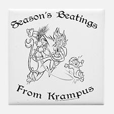 krampusTee Tile Coaster