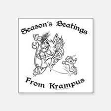 """krampusTee Square Sticker 3"""" x 3"""""""