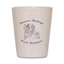 krampusTee Shot Glass